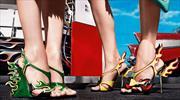 Los Cadillac de los 50s inspiran zapatos de Prada