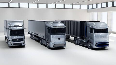 Mercdedes-Benz tendrá gama de camiones a hidrógeno