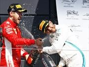 F1 2018: Vettel se arranca de Hamilton en Silverstone