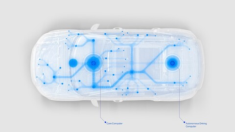 Volvo Cars y Nvidia quieren optimizar la conducción autónoma