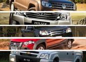 Top 5: las pick-ups más vendidas en enero de 2012