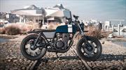 """Panache Customs Yamaha XS360 Scrambler """"Falkor"""""""