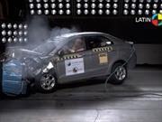 Ford Figo 2016 obtiene 4 estrellas en las pruebas de impacto de Latin NCAP