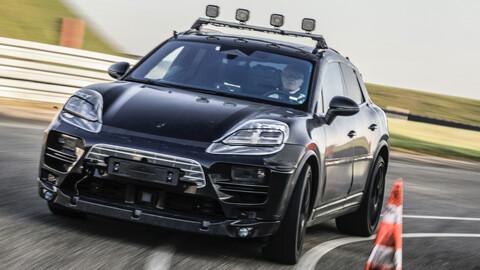 Porsche Macan eléctrico empieza a probarse