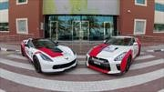 Nissan GT-R y Chevrolet Corvette Grand Sport son ambulancias en Dubai