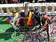 Carlos Muñoz  vuelve al podio en Pocono