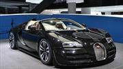 El último Bugatti Veyron se muestra en Ginebra