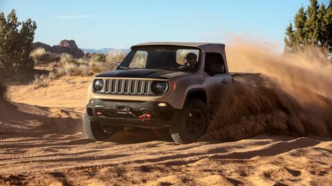Jeep trabaja en una pick-up mediana