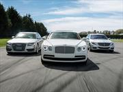 Test: Audi S8 vs Bentley Flying Spur vs Mercedes-Benz S500L