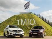 Mercedes-Benz GLC logra el millón de unidades vendidas