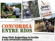 Jeeperos, se viene otra travesía solidaria del Jeep Club Argentina