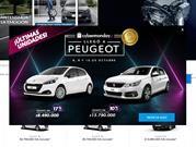Peugeot debuta inedita plataforma web de ventas en Cybermonday
