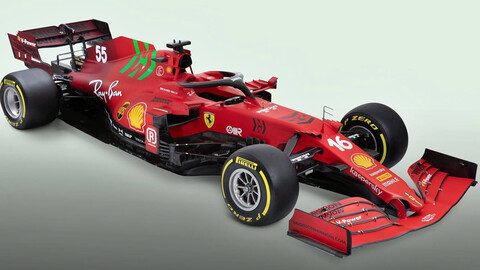 F1 2021: Ferrari estrena la máquina para volver a dar pelea