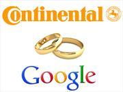 Continental firma alianza con Google