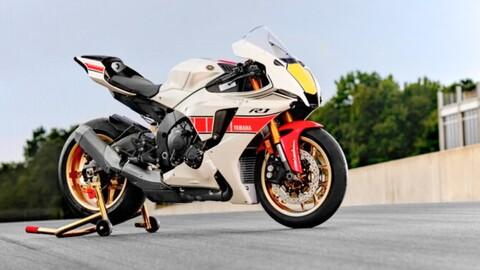 Yamaha homenajea sus primeros éxitos en competición con la serie World GP 60th Anniversary