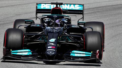 F1 2021: Lewis Hamilton arrancó con el pie derecho en Barcelona