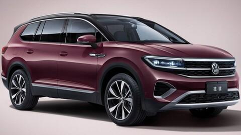 Volkswagen Talagon debuta