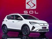 SOL E20X es una SUV eléctrica desarrollada por JAC y Volkswagen