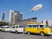 Festejan el 70 aniversario de la Volkswagen Combi