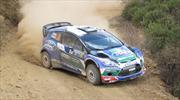 Ford Fiesta RS WRC EcoBoost 1.6 presente en el Rally León, Guanajuato 2012