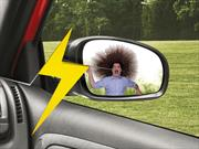 Taser oculto en espejos retrovisores