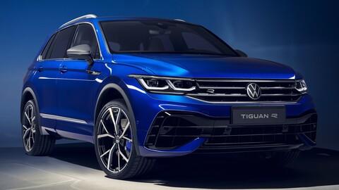Volkswagen Tiguan R 2021: más de 300 hp y una dinámica de conducción superior