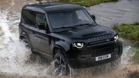 Land Rover Defender está disponible con un motor V8 Supercargado