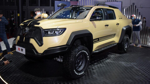 Poer Baja Snake, pick up del grupo Great Wall con aires de Ford y sello Shelby