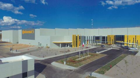 Continental expande su planta automotriz de San Luis Potosí.