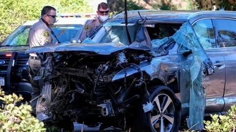 Este es el motivo del aparatoso accidente automovilístico de Tiger Woods