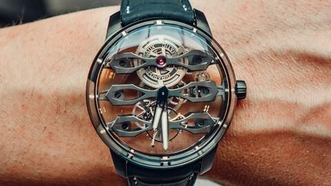 Alianza de estilo: Girard-Perregaux y Aston Martin presentan su primer reloj