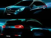 """KIA y las primeras imágenes de su nuevo vehículo híbrido: """"Niro"""""""