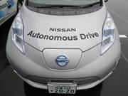 Nissan probó un vehículo autónomo en una ruta abierta