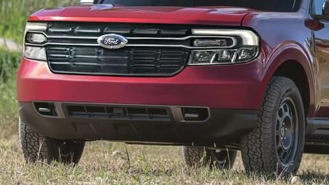 Así se vería la Ford Maverick 2022