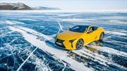 Mirá la espectacular prueba de Lexus en el invierno siberiano