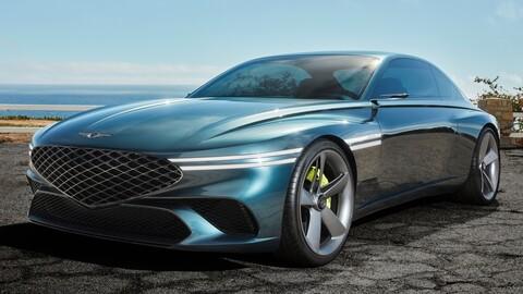 Genesis X Concept: un concept car que visualiza a un elegante y lujoso Gran Turismo eléctrico