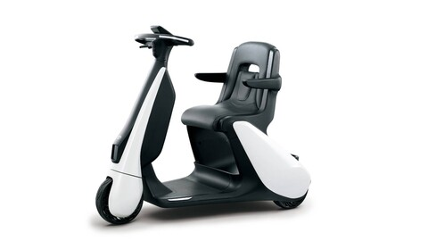 Toyota presenta un triciclo que ocupa el espacio de una persona caminando