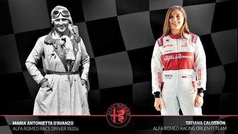 Estas son las mujeres piloto a las que Alfa Romeo rinde tributo