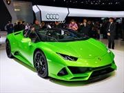 Lamborghini Huracán EVO Spyder 2020, para despeinarse a toda velocidad
