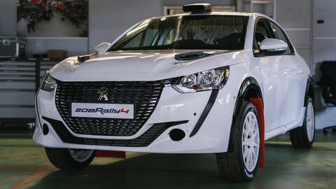El Peugeot 208 Rally 4 sale como pan caliente
