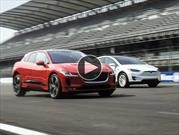 Video: Tesla Model X y Jaguar I-Pace, un duelo electrizante