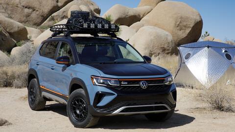 Volkswagen Taos Basecamp Concept: listo para el off-road desde fábrica