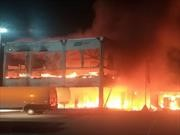 MotE 2019: Un incendio destruyó las motos eléctricas