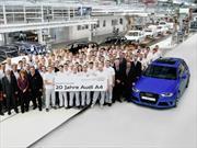 Cumple 20 años el Audi A4