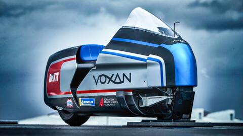Voxan Wattman, la moto eléctrica que va en busca del récord de velocidad