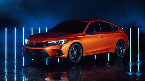 Honda nos da un adelanto de cómo será la nueva generación del Civic 2022, mediante un prototipo