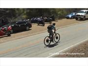 Video: Bicicleta eléctrica hecha a mano viaja a 80 Km/h