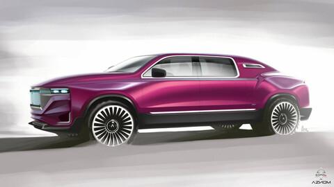 Aznom AutomotivePalladium, el Rolls Royce de las limusinas