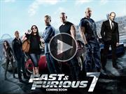 Video: el trailer de Rápido y Furioso 7