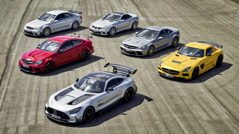 Estos son los antecesores del Mercedes-AMG Black Series GT